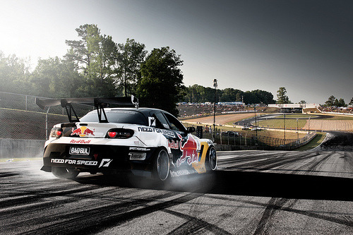 Road Atlanta, turns 10A and 10B. automotivated:  MadMike Redbull (by Kyle McManus)