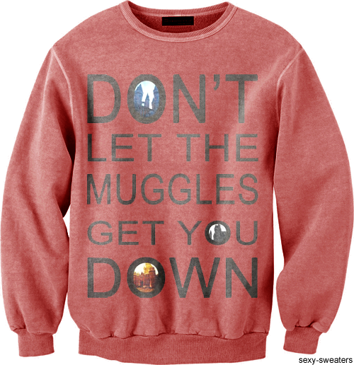 Because only true witches and wizards KNOW that Hogwarts is REAL!