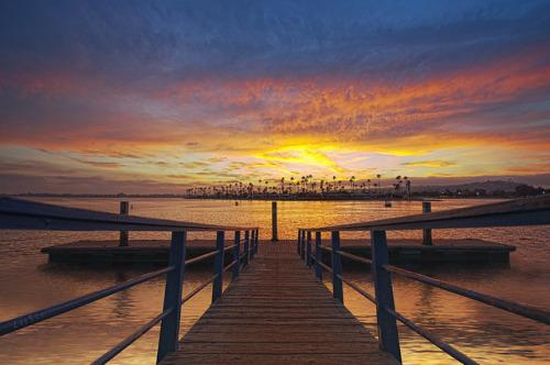 Mission Bay Dock byLee Sie