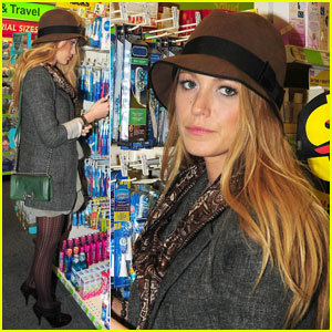 blake lively buying a reach toothbrush