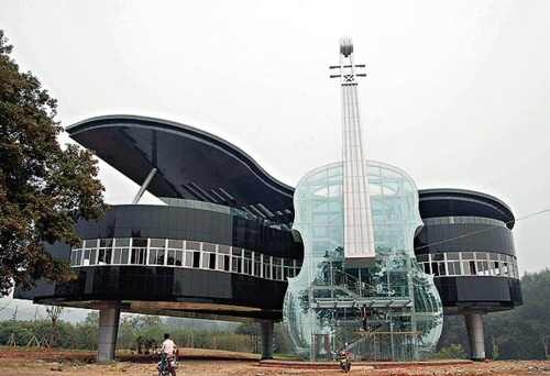 Piano/Guitar House…..