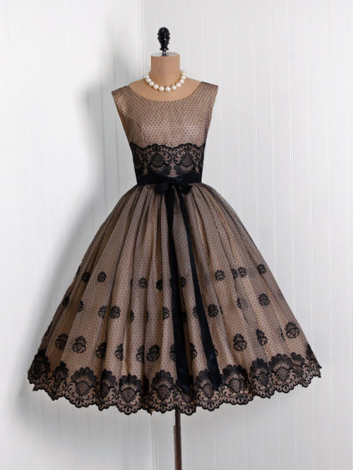 1950s Party Dress, Timeless Vixen Vintage