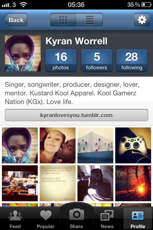Instagram: KyranTheFuture