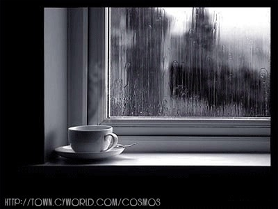 … I just sooo love the sound of the rain falling outside my window …