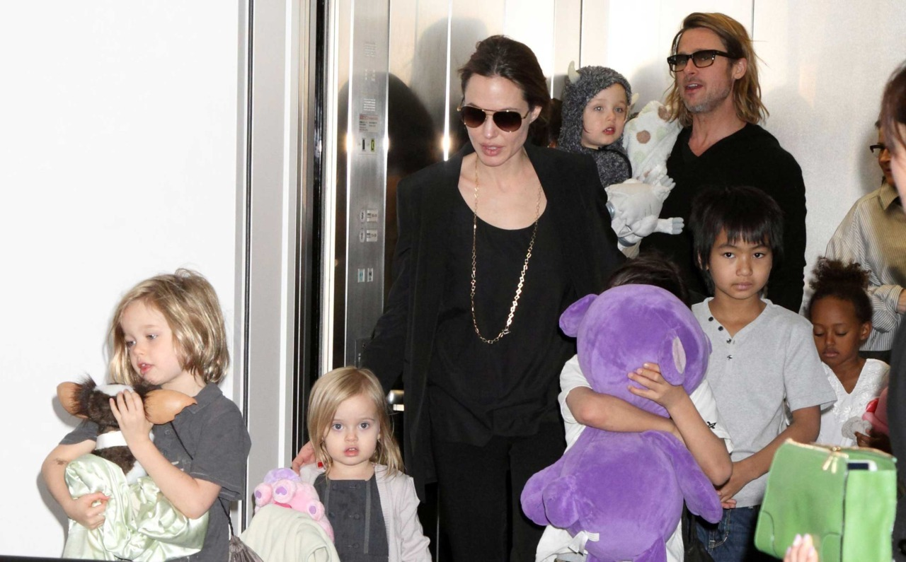 "The Brangelina clan has just arrived home from a family trip to Vietnam, where eight-year-old son, Pax, met with his biological grandmother, Nhan Dung.  Angelina Jolie and Brad Pitts' son is reunited with biological grandmother    An insider told US Weekly: ""It was a one day visit. Nhan was looking forward to it after Pax had lived so many years abroad"". The Brangelina clan has just arrived home from a family trip to Vietnam, where eight-year-old son, Pax, met with his biological grandmother, Nhan Dung.  Pax, was just three when Angelina Jolie and Brad Pitt adopted him from an orphanage in Ho Chi Min City, in Vietnam in 2007, and this is the first time he has been back to his birthplace and met part of his biological family.    An insider told US Weekly: ""It was a one day visit. Nhan was looking forward to it after Pax had lived so many years abroad"". Pax, was just three when Angelina Jolie and Brad Pitt adopted him from an orphanage in Ho Chi Min City, in Vietnam in 2007, and this is the first time he has been back to his birthplace and met part of his biological family."