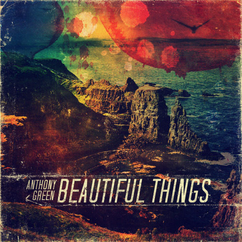 Photoshop practice. Fake cover for Anthony Green's new album, Beautiful Things. -SAM