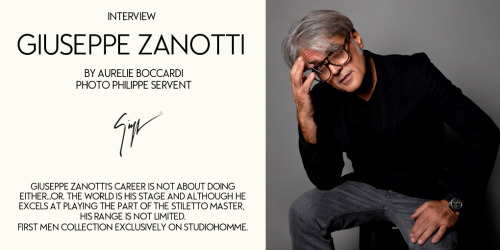 Giuseppe Zanotti Interview Part 1 View our Giuseppe Zanotti selection