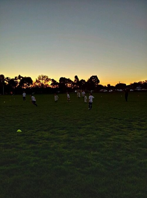 #soccer @ #sunset (uploaded with Streamzoo.com)