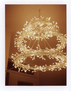 IKEA Glansa circle lights