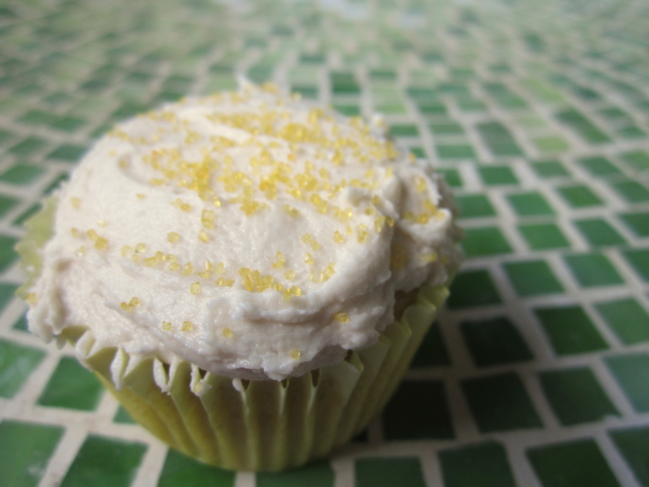 Orange vanilla cupcakes by fattypolitic; recipe from Gluten Free Goddess