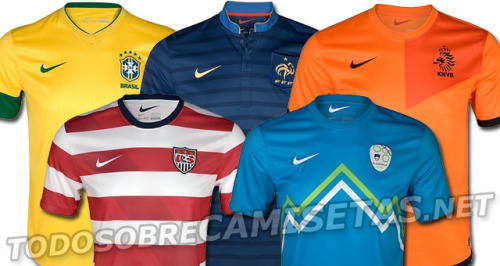 Looks like @NikeSoccer has been busy dreaming up new National kits for 2012.  Follow here to get a better look. -WM