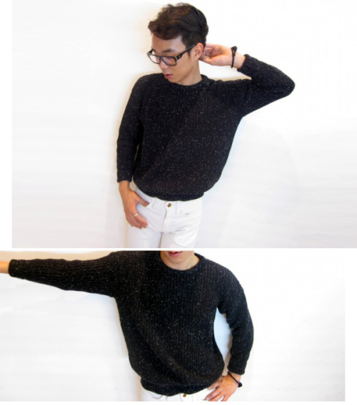 limhyosub:   Working RSAKWFPC     Fisherman's Pullover   Classic pullover in a soft, cotton-knit weave. Perfect worn alone all year long, or layered for cooler months.   -100% Cotton construction   by.American Apparel.      Hyosub being a babe again!