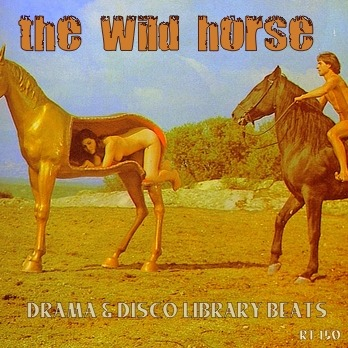 The Wild Horse: Drama & Disco Library Beats cover plate, 1977