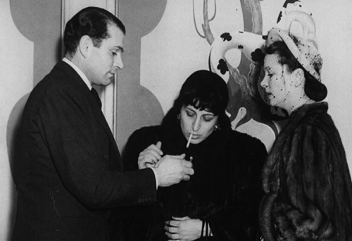 Anna Magnani with Laurence Olivier & Vivien Leigh  Can this picture possibly get any more awesome? No.