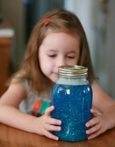Crafts & ActivitiesFuture Family pearls-curlsandasoutherngirl:  A calm jar.  I need one of these.  You fill the jar with colored water and glitter. When you are upset you shake the jar and have to watch it until the glitter completely settles.  The time it takes is enough time for you to settle your emotions.