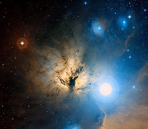 Ngc 2024 / The flame nebula.