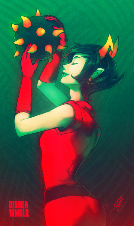 ginilla:  After months, finally updated with homestuck ;v; Someday I'll draw something more than just a Kanaya
