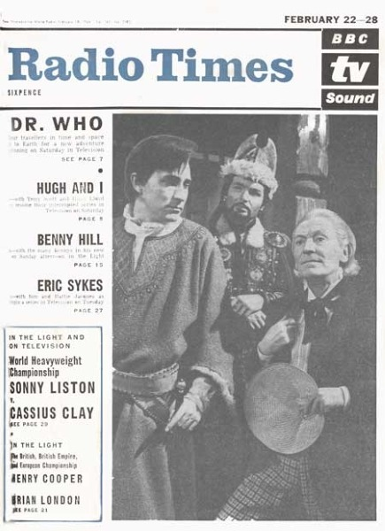 'Doctor Who' Birthday Gallery: The Best 15 Radio Times Covers  The First Cover (February 1964)  Doctor Who was first shown on British screens on November 23rd, 1963. The country  was gripped by Beatlemania, and a bitter winter was about to set in. 48  years later, Doctor Who is the longest-running science fiction TV show ever, and shows no signs of flagging. So to celebrate 48th birthday of all things Time Lord, here are a  selection of covers from the Radio Times, depicting the show's  development over the years. For more classic Doctor Who covers, go to the Radio Times website  Go to Anglophenia for the rest