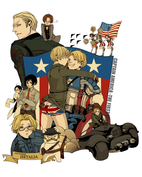 seasideknight:  captain hetalia!