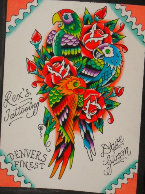 tattooflash:  Dave Gibson