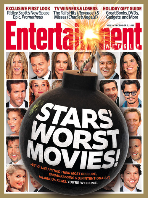 entertainmentweekly: This Week's Cover: Stars' Worst Movies! We list the most embarrassing films A-listers ever made