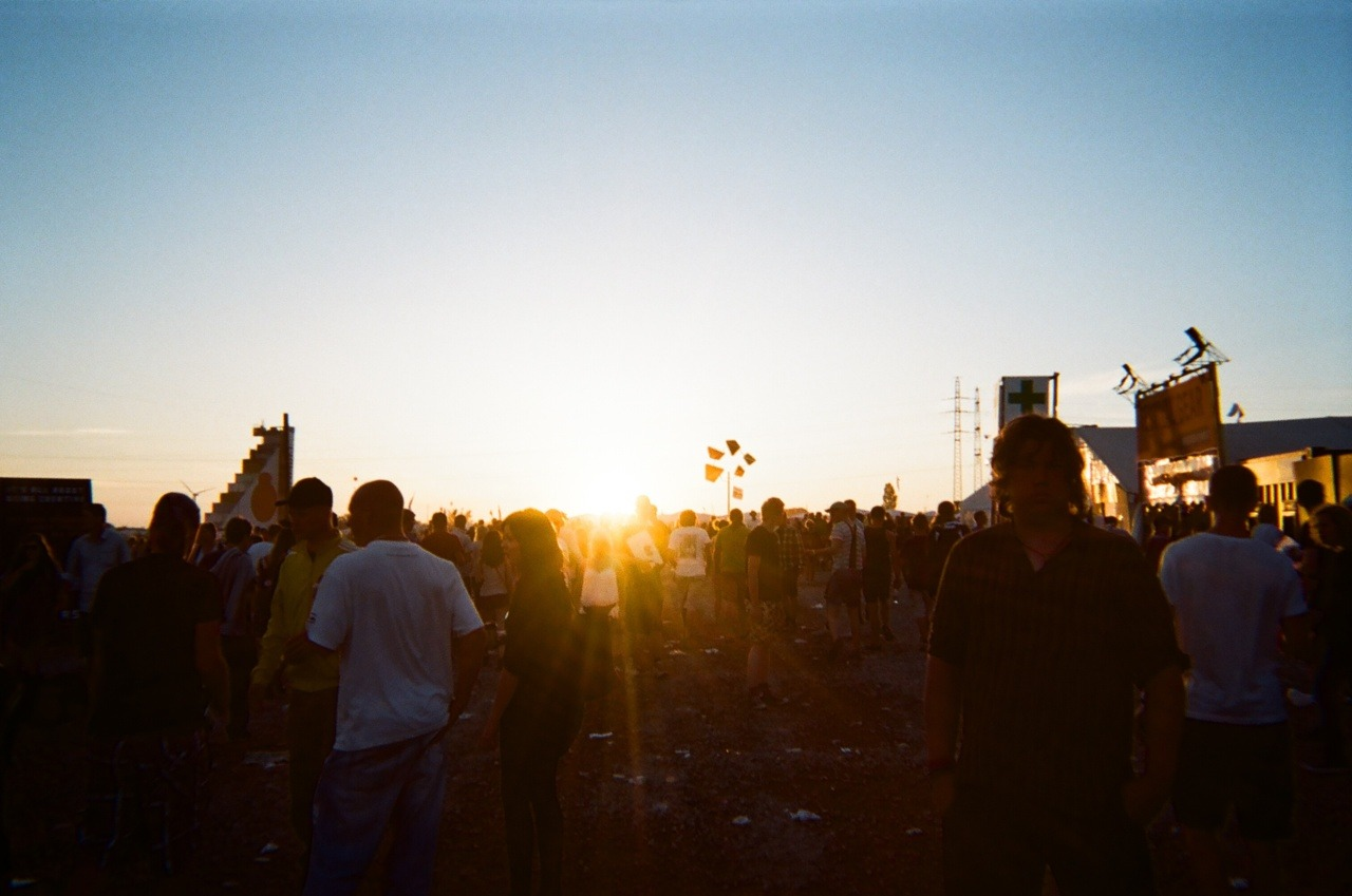Roskilde, my favourite music festival of all time, seen through the lens of a single exposure camera. (yes, I miss the summer!)