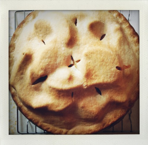 Apple pie: check