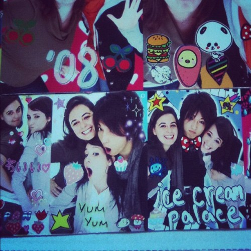 Just found my purikura photos from japan. Must. Get. Back. Soon.  (Taken with instagram)