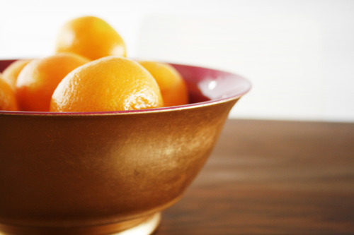 clementine fruit bowl zhush