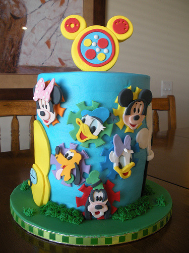 Mickey Mouse Clubhouse (by Tasty Cakes by Jennifer)