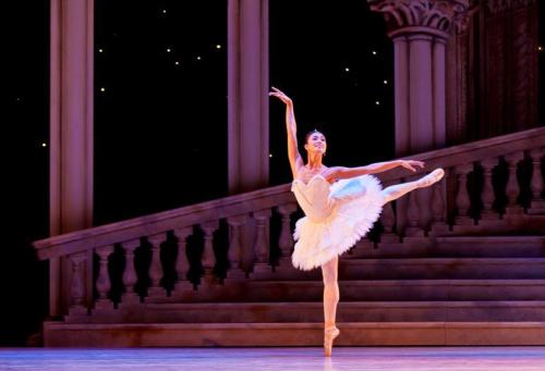 ABT's Stella Abrera guesting as Aurora with The Royal Ballet of New Zealand. Photo by Evan Li.