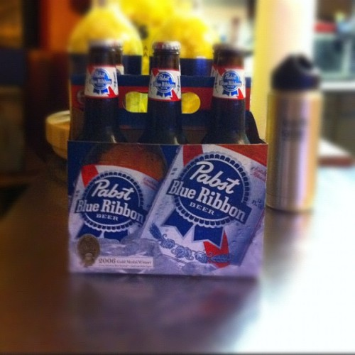 Uppity #Pabst #blueribbon #pbr #beer  (Taken with instagram)
