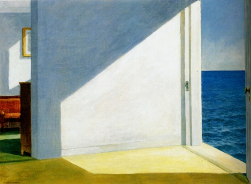 an-artwork-a-day:  Edward Hopper (American Realism, 1882-1967), Rooms by the sea (1951), Oil on canvas, 74 × 102 cm.