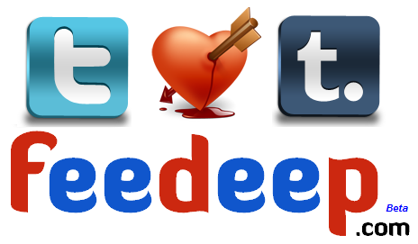 Feedeep ♥ Twitter & Tumblr :)