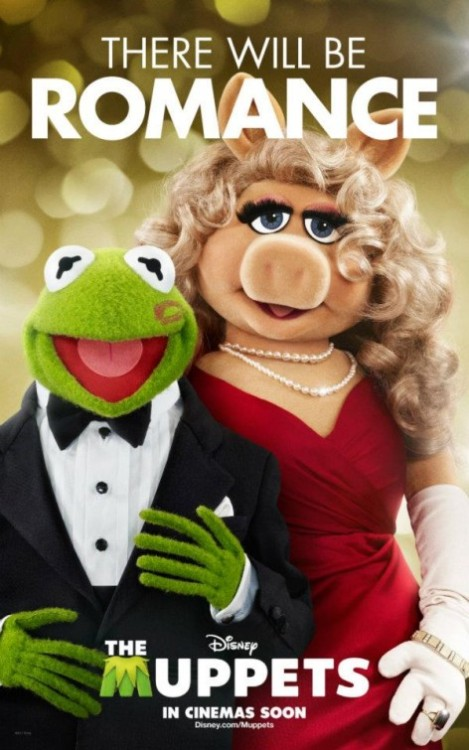 "coloredmondays:   ""There will be romance"" The Muppets (2011)"