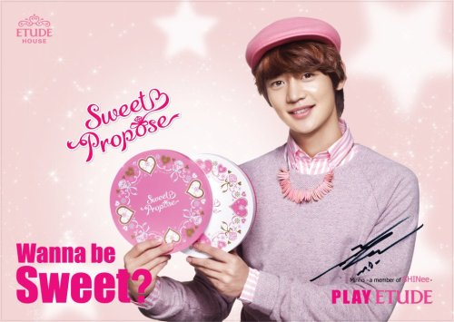 shineetown:  SHINee Minho For Etoude House  via soompi