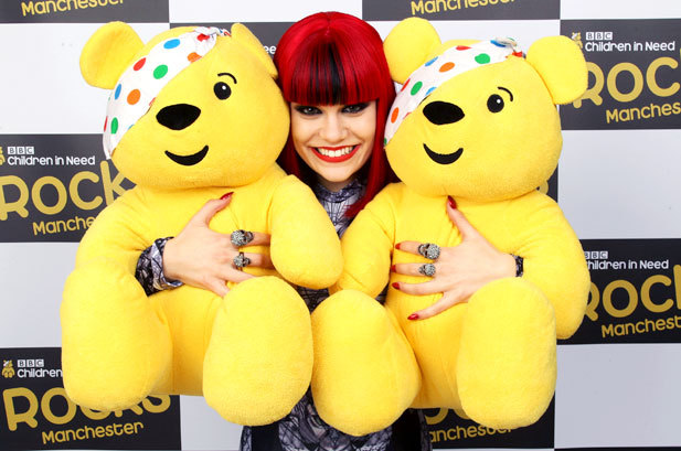 November 17: Jessie J bears a grin at Children In Need Rocks Manchester in Manchester, England. I'm LOVING her album!