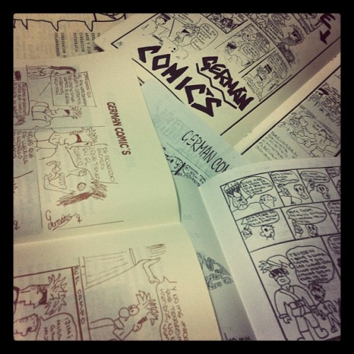 More old stuff #comics #GermanComics #Prehistoria (Taken with instagram)