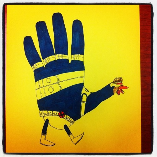 Happy Thanksgiving! Here, have a Cyclops hand turkey.