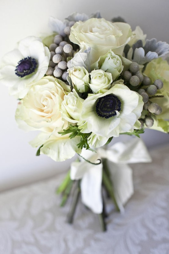 theweddingtree:  A Winter Bouquet