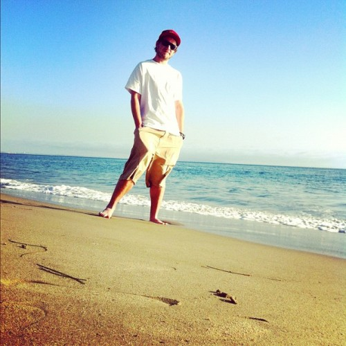 Perfect Day. Thanks to ArtyFarty. #malibu #sand #beach #cali #california #me #artyfarty (Taken with Instagram at Malibu)