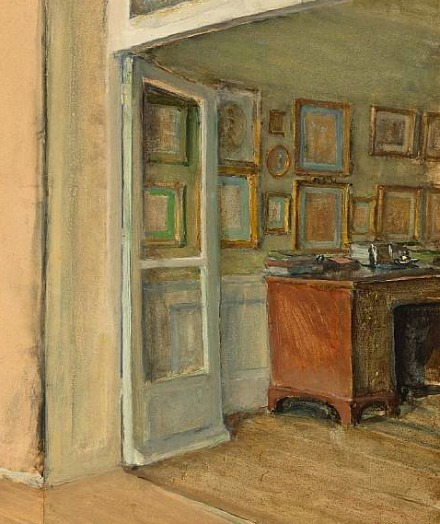Walter Gay The Artist's Study Late 19th - early 20th century
