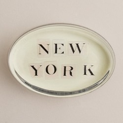 New York Oval Paperweight, J.Crew