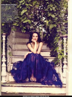 Jessica Brown-Findlay in Vogue UK, August 2011 simply stunning