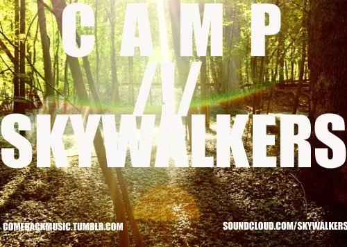 "babyblaze:  comebackmusic:  Its here! Camp/!/Skywalkers is streaming now on Datpiff.com. go listen to it now! Click the link here to stream it: http://www.datpiff.com/ComebackMusic-Campskywalkers-mixtape.287306.html  Comeback /!/ Music's cover of Childish Gambino's ENTIRE ""Camp"" album. Enjoy ;D  Why would you wanna download it?   We swag it out, we're awesome, and our music will fuck your eardrums with sexy sex of sexiness~    Why would you not?"