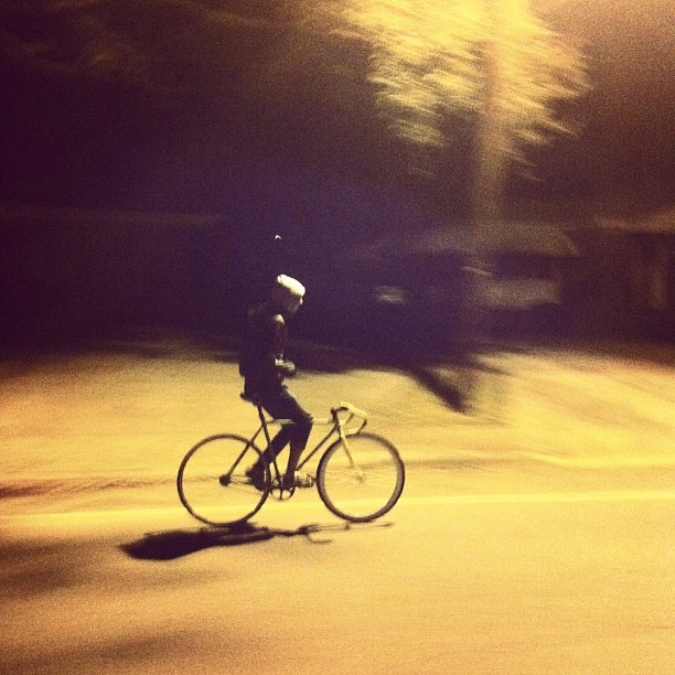 Late night ride (Taken with instagram)