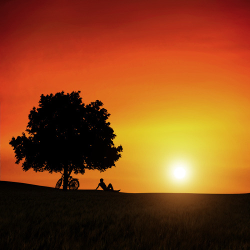 "pedalfar:  500px / Photo ""When the Sun Goes Down"" by Carlos Gotay"