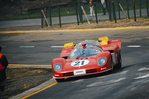 Ferrari 512S at the 1000 KM of Spa