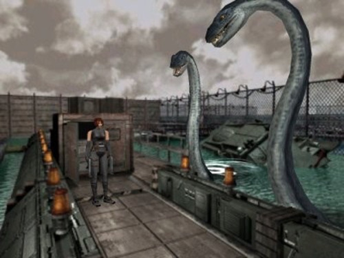 I had a severe attachment to dinosaurs and Resident Evil as a kid.  Dino Crisis was crack.