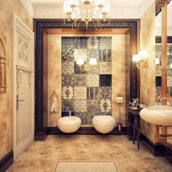 homedesigning:   Jaw-droppingly Gorgeous Bathrooms That Combine Vintage With Modern | Click through for more